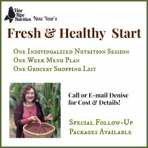 What is your idea of a fresh and healthy start? Individualized nutrition session, one week healthy meal plan and one week grocery list?