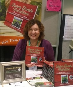 Love to be able to sell my book at my professions national meeting. Lots of dietitians around the country are very supportive.