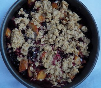 Seasonal Fruit Crisp
