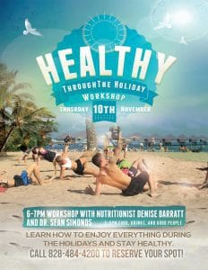 Healthy Through the Holiday Workshop