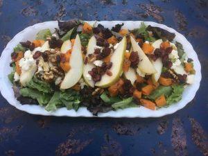 Butternut Squash Pear Salad