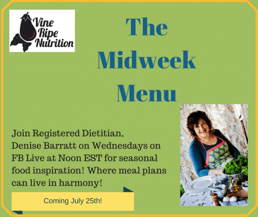 If you missed the Midweek Menu Cooking Series, here is a free recipe book download with the recipes.