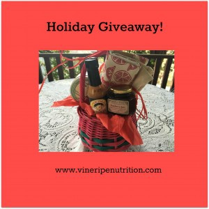 Have you entered the holiday giveaway?