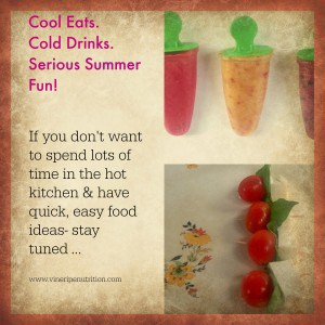 Ideas to make easy cool, summer recipes