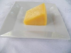 Hard cheese even though dairy is not a high source in fodmaps