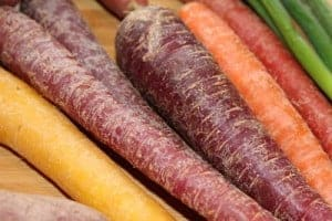 A variety of carrots are now available