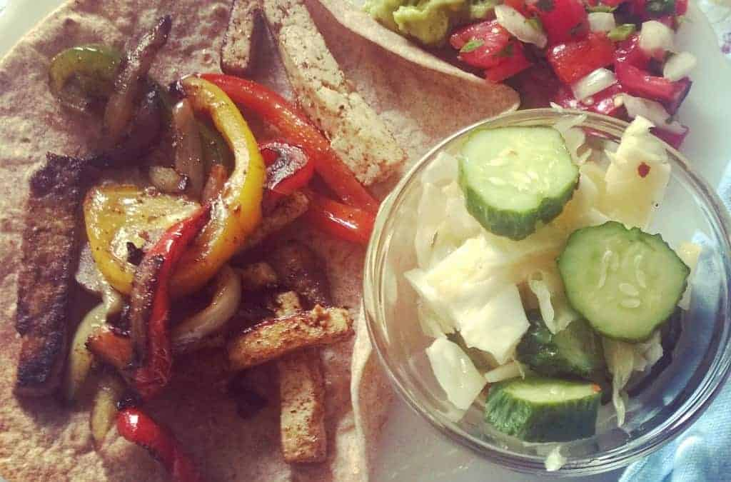 Garden to Patio Summer Barbeque: Fajitas on the Grill