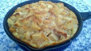 Pears also make a delicious bread pudding for a healthy dessert recipe
