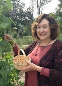 Spending time in a community vegetable garden is healing for your soul
