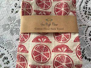 The High Fiber cotton flour sack towel.