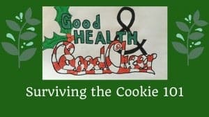 How do you survive the holiday cookie?