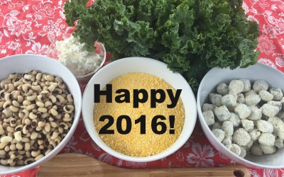 Eat a healthy black eyed pea recipe for good luck in 2016