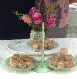 Mini Apple cupcakes are wonderful for a party!