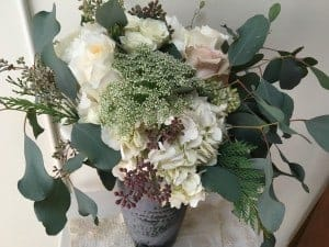 Love my birthday bouquet and it is very fragrant!