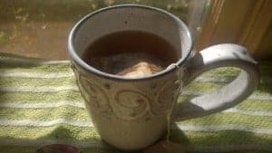 Have a cup of tea and take good care of yourself