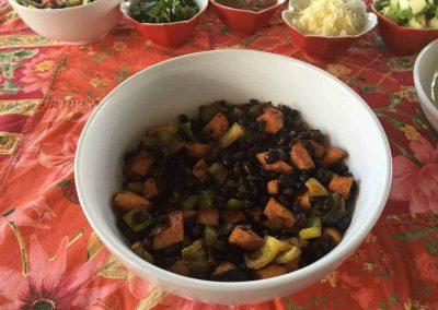 Black Bean, Poblano and Sweet Potato Tacos