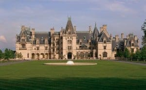 The Biltmore estate is such a beautiful place