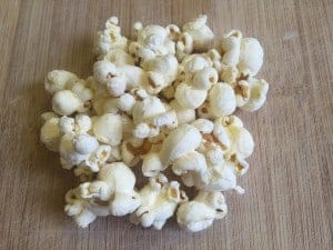 Popcorn is a versatile ingredient and makes a filling snack!