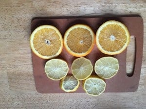 Fresh citrus is a great flavor for recipes