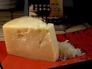 parmesan cheese give a savory flavor to foods