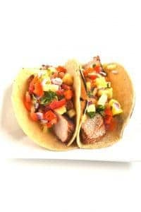 pork tacos are delicious especially if the meat is grilled