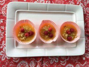 Lemon Raspberry Tartlet