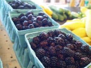 Blackberries at the Farmers' Market