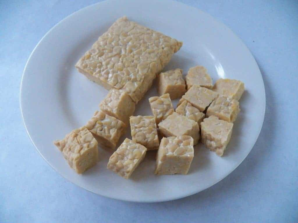 Tempeh ready to be prepared into something great