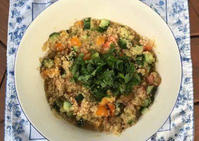 Quinoa Tabouli with a Southwest Twist
