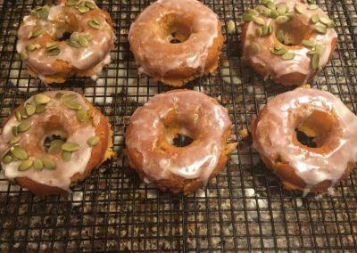 Pumpkin Cinnamon Donuts
