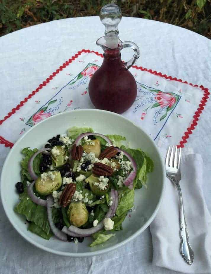 Wild Blueberry Holiday Salad ready for your next celebration