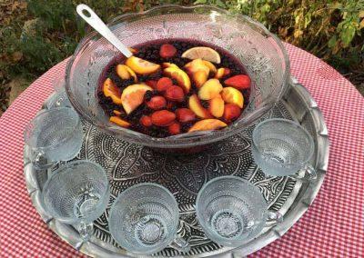Festive Wild Blueberry Sangria