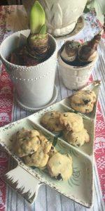 Recipe for Almond, White Chocolate, Cranberry & Macadamia Cookies