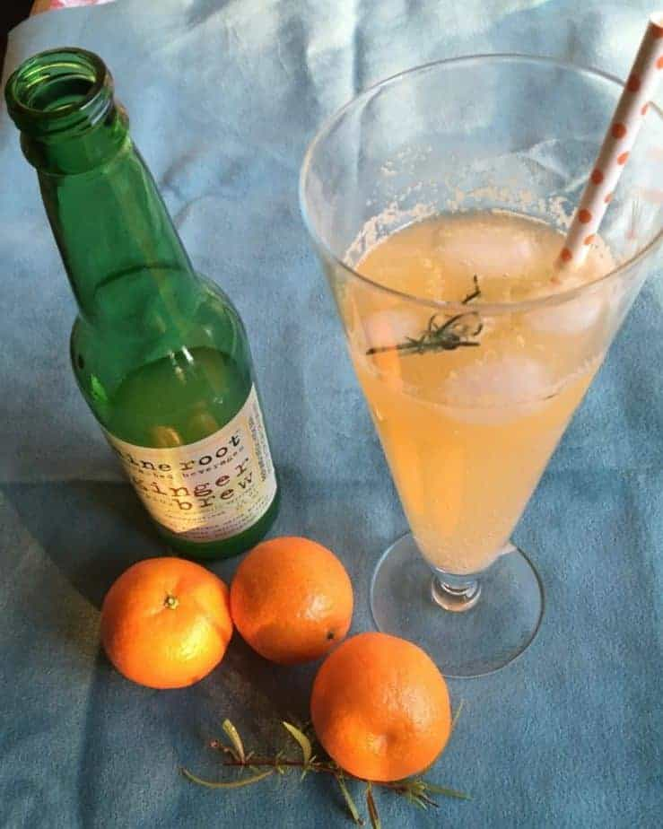 Orange Missouri Mule Mocktail