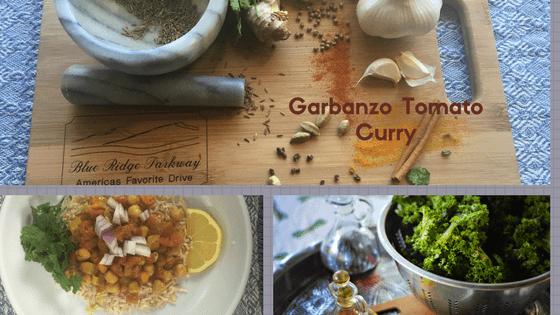 recipe for garbanzo tomato curry