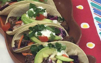 Tacos made with Hempeh