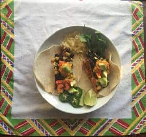 Blackened Salmon Taco Recipe
