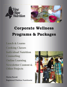 Asheville Corporate Wellness Programs