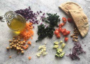 Stuffed Salad Pita