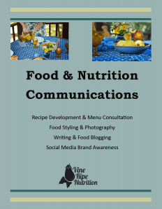 Food & Nutrition Communications