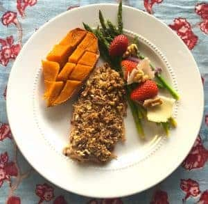 Pecan Encrusted Trout Recipe for one of the best anti-inflammatory diets