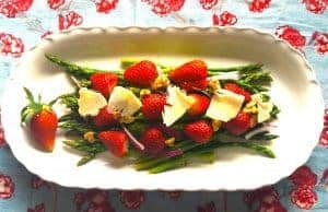 Spring Strawberry Asparagus Salad