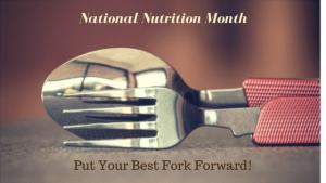 Put Your Best Fork Forward Blog Post