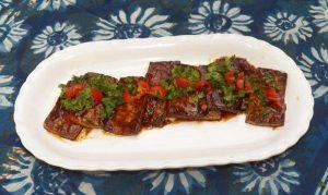 Grilled Tofu with Teriyaki Sauce