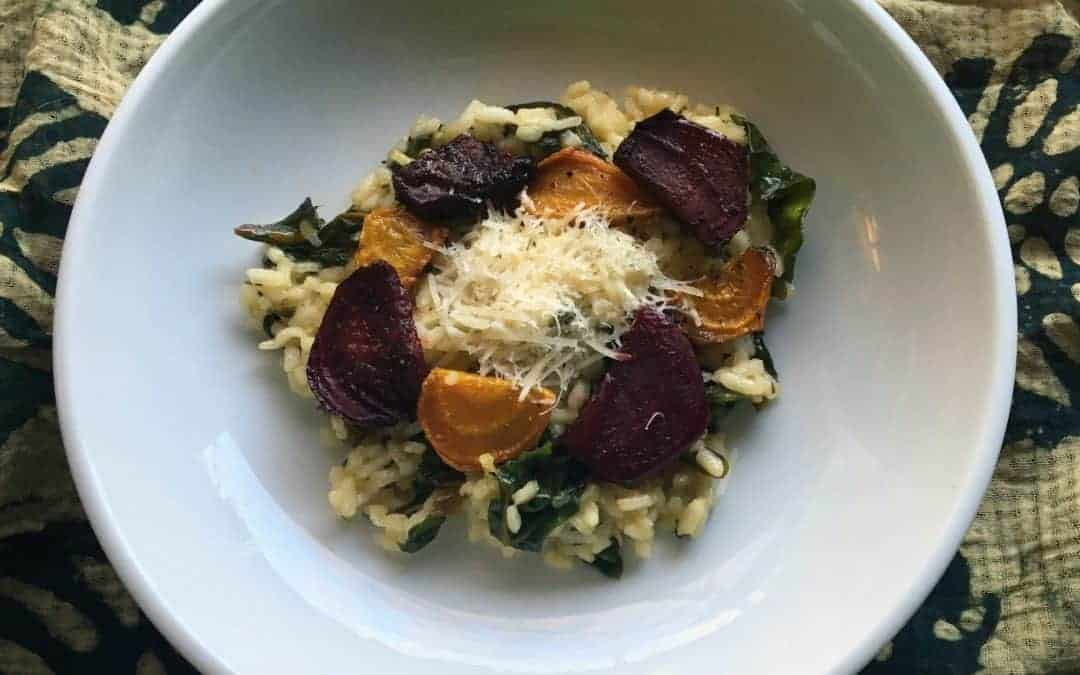 Local Beet Roasted Beet Risotto