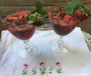 Strawberry Celebration Mocktail