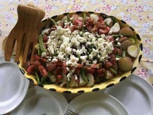 Summer Salad Chickpea Nicose Recipe