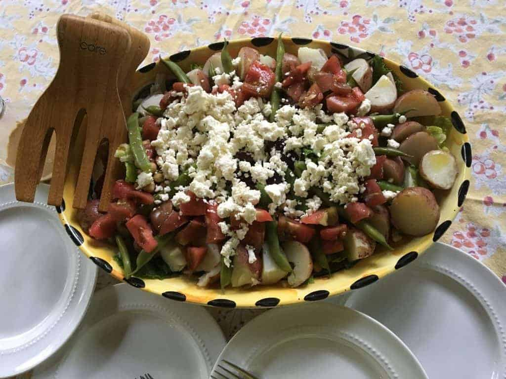 Summer Salad Chickpea Nicose Recipe