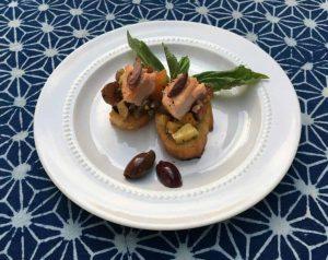 Seafood Party Crostini