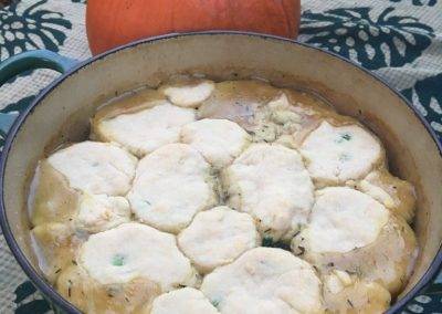 Winter Vegetarian Pot Pie
